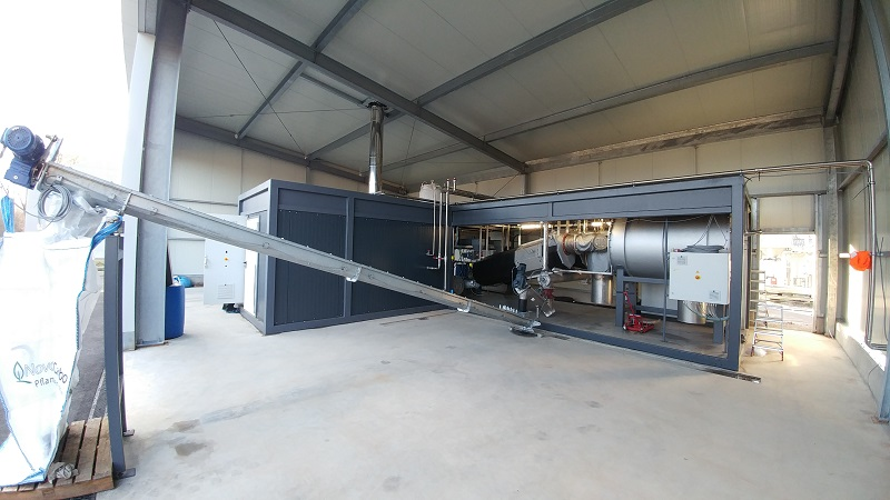 PREMIERE: First PYREG plant for production of activated carbon is in operation