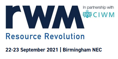 Join us at RWM Expo, UK's largest Recycling, Resource & Waste Managementevent!